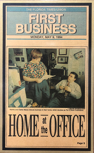 POG Cinema Advertising Home at the Office 1994