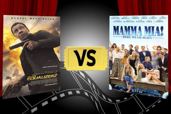 The Equalizer 2 vs Mamma Mia! Here We Go Again