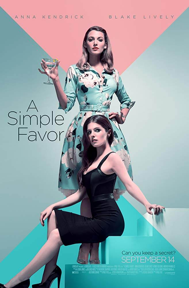 A Simple Favor IMDb Movie Poster