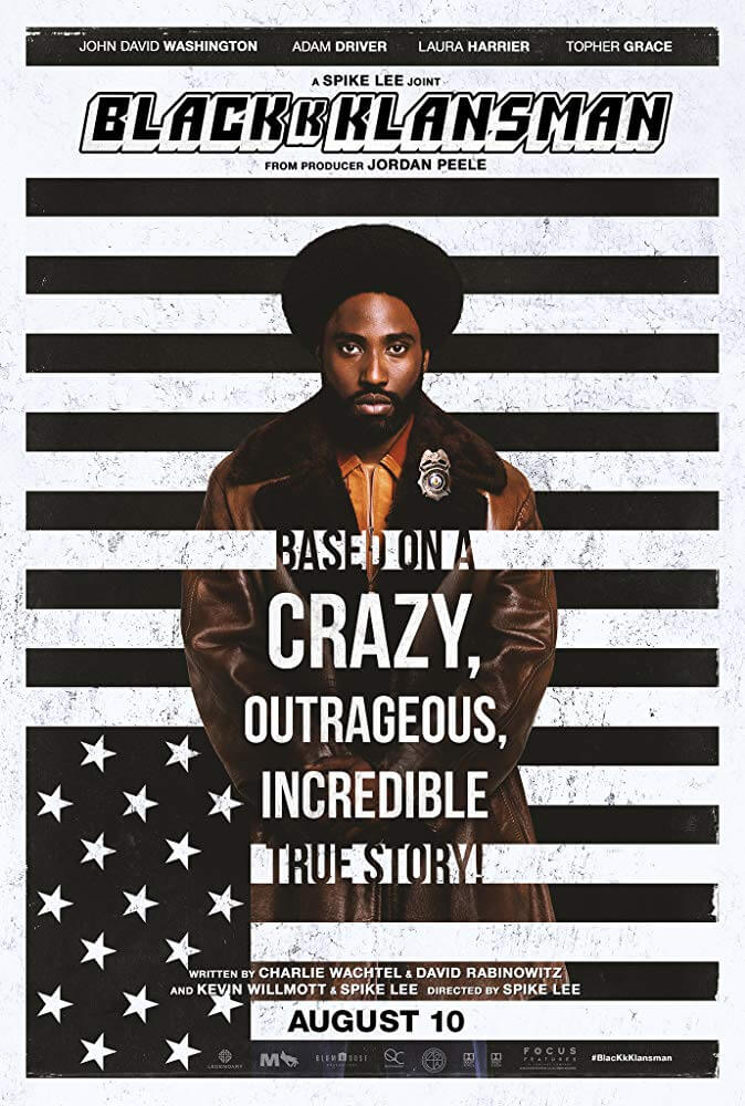 BlacKkKlansman IMDb Movie Poster