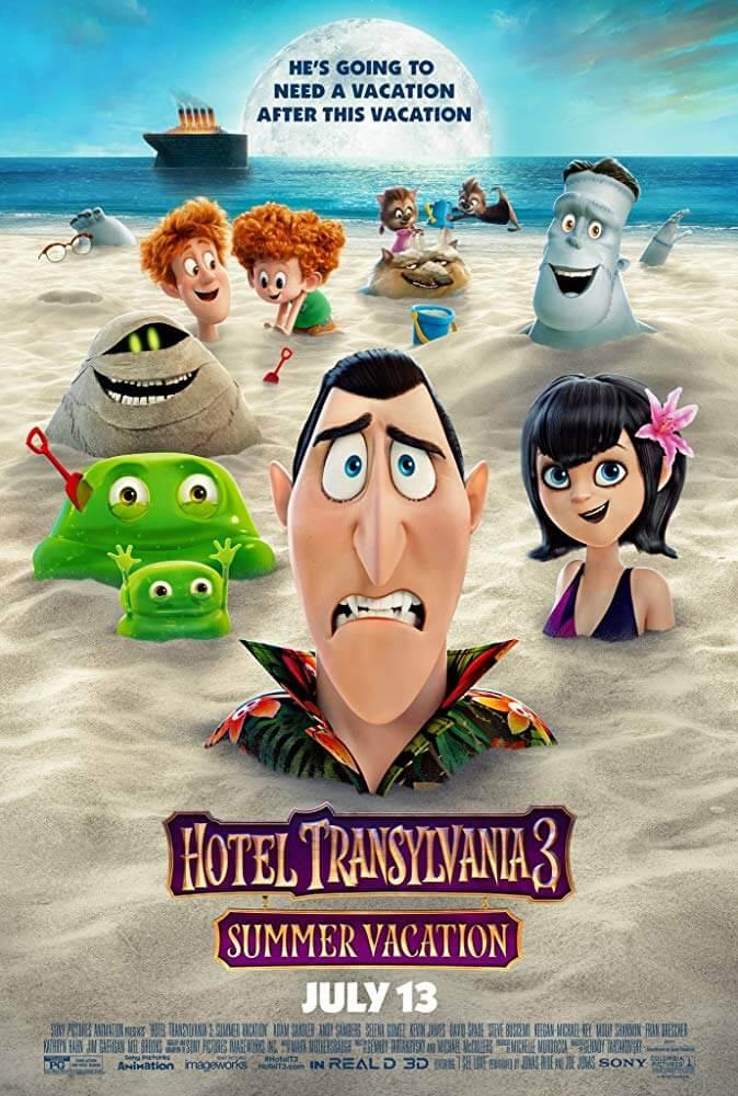 Hotel Transylvania 3 IMDb Movie Poster