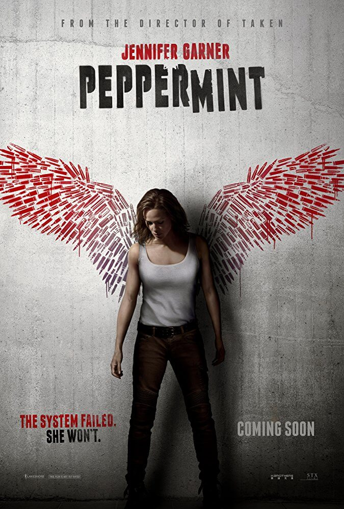 Peppermint IMDb Movie Poster