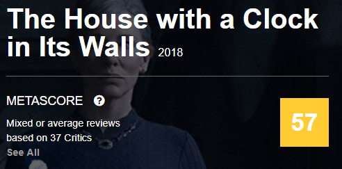 The House With a Clock in Its Walls Metacritic Reviews and Ratings
