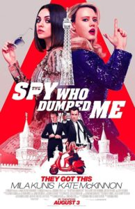 The Spy Who Dumped Me IMDb Movie Poster