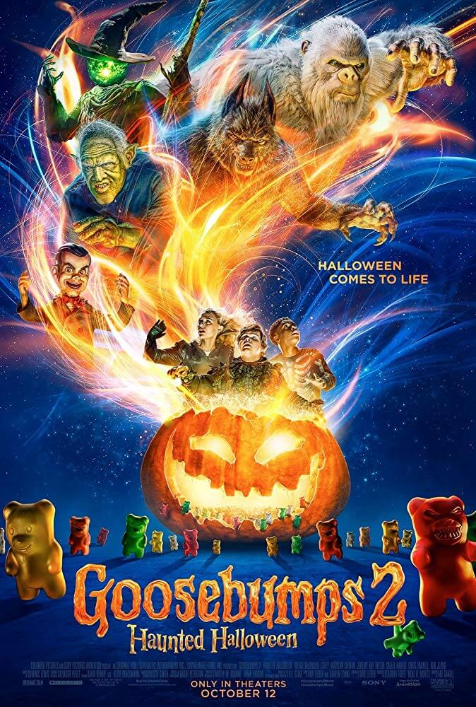 Goosebumps 2 Haunted Halloween IMDb Movie Poster