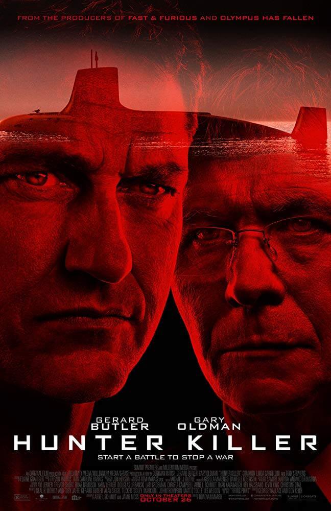 Hunter Killer IMDb Movie Poster