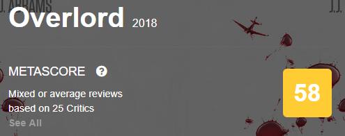 Overlord Metacritic Metascore