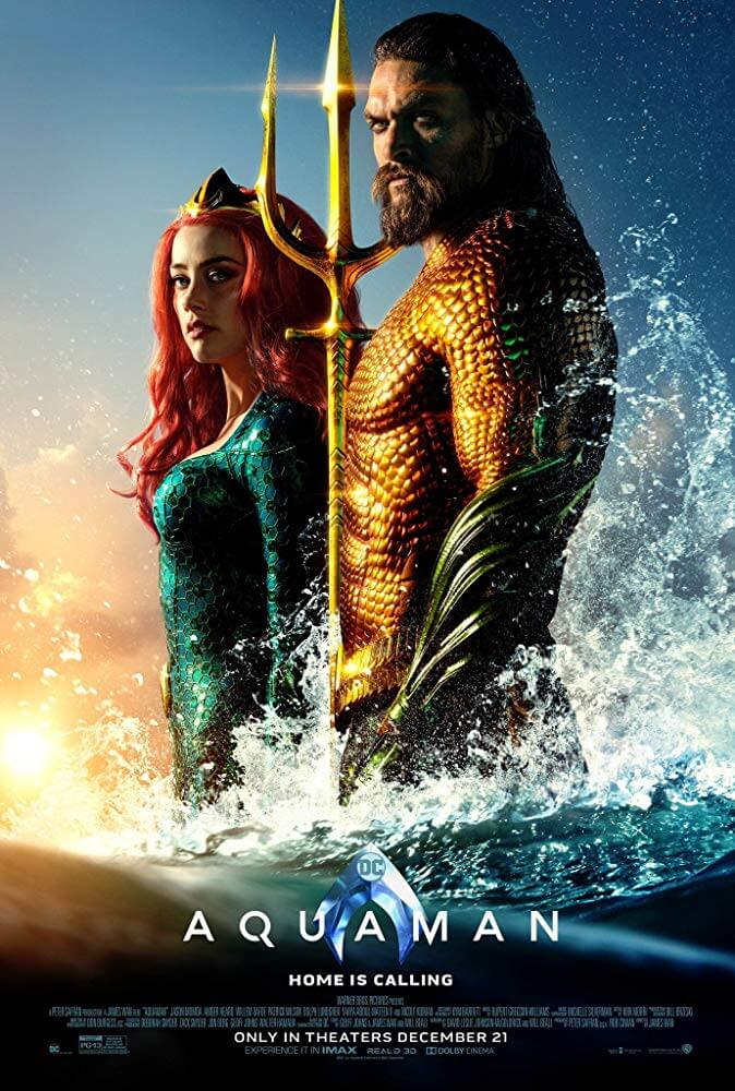 Aquaman IMDb Movie Poster