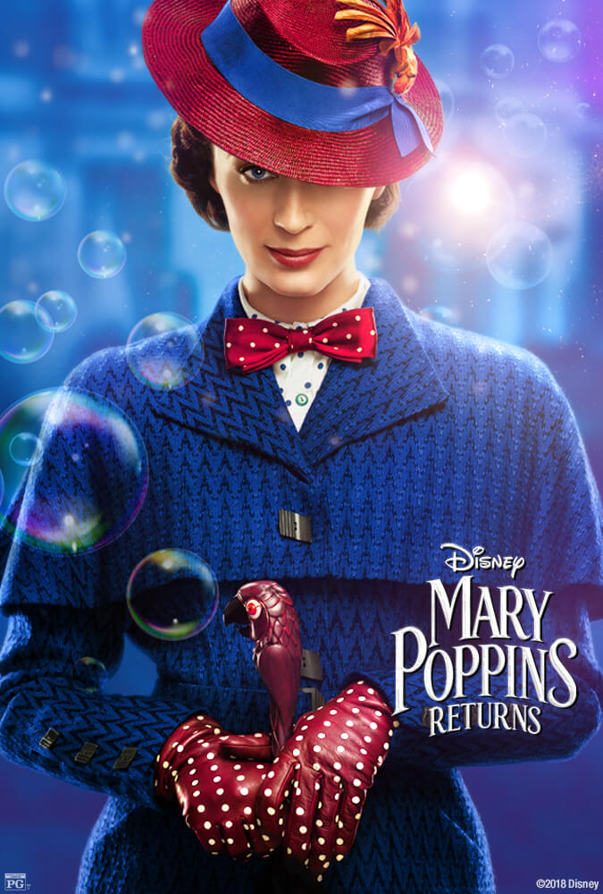 Mary Poppins Returns IMDb Movie Poster